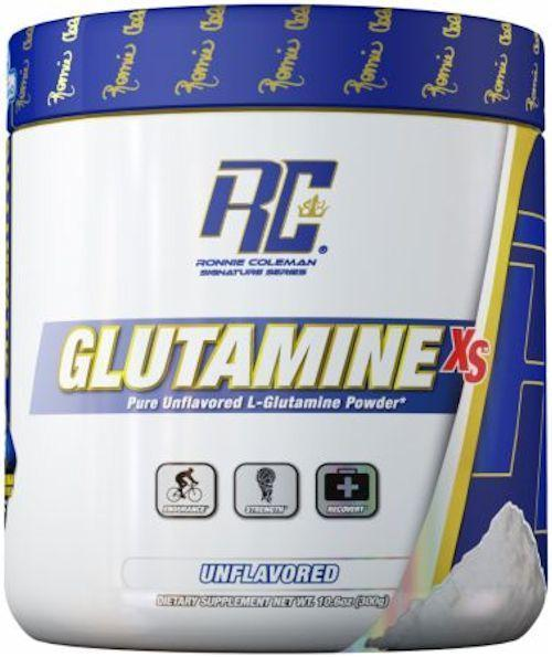Ronnie Coleman Glutamine Ronnie Coleman Glutamine XS 300 Grams Unflavored