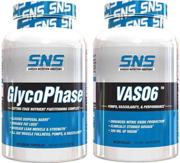 SNS GlycoPhase Vas06 Mass Muscle Pumps