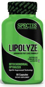 Species Nutrition Lipolyze 90 ct