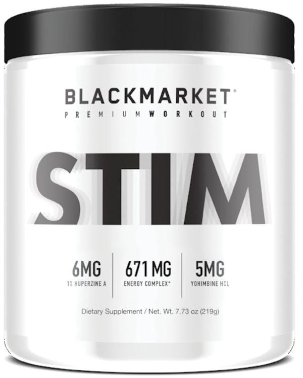 Black Market Labs Stim 60 servings