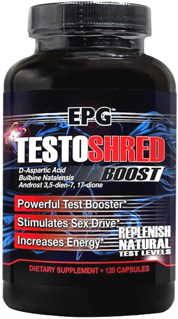 EPG Testoshred 120 caps