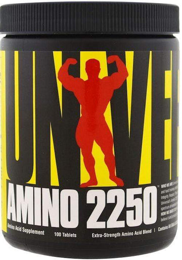 Universal Nutrition Amino 2250 100 tab BLOWOUT SALE