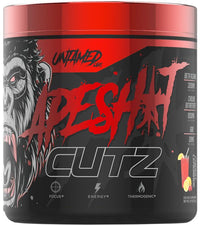 Ape sh*t Cutz pre-workout Primeval Labs peach