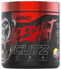 Ape sh*t Cutz pre-workout strawberry