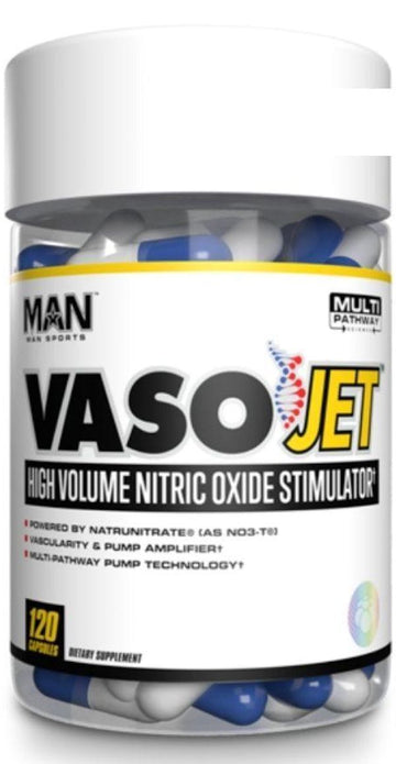Man Sports VasoJet 120 capsules