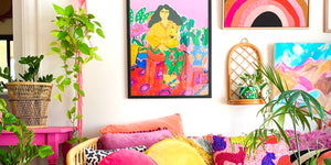 Colourful Art Prints Wall Decals