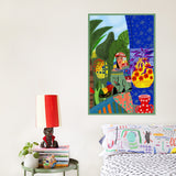 Colourful affordable artwork by Dina Razin