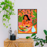 Colourful affordable art print by Maggie Stephenson