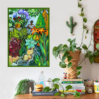 Day Out With Foliage Art Print by Jennifer Orkin Lewis