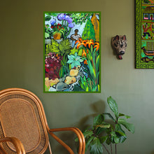 Load image into Gallery viewer, Day Out With Foliage Art Print by Jennifer Orkin Lewis
