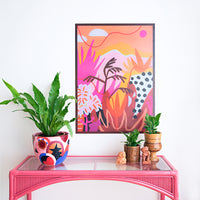 Colourful affordable art print by Adrianne Hawthorne