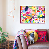 Lush Garden Art Print by Joy Ting