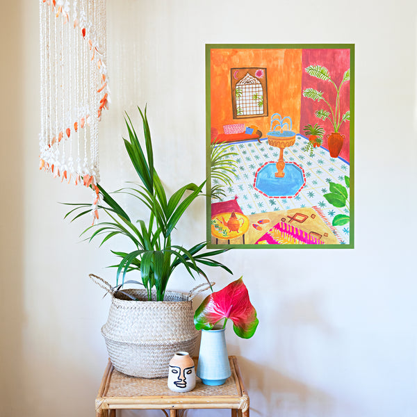 Memories of Morocco Art Print by Rosie Harbottle