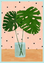Load image into Gallery viewer, Monstera Mood Art Print by Brook Gossen