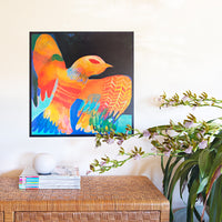 Colourful affordable art print by Misha Blaise