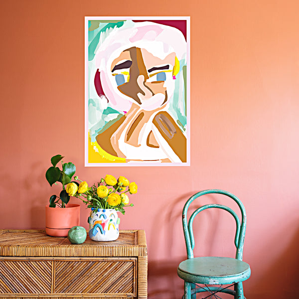 Colourful affordable artwork by Bianca Loiacono