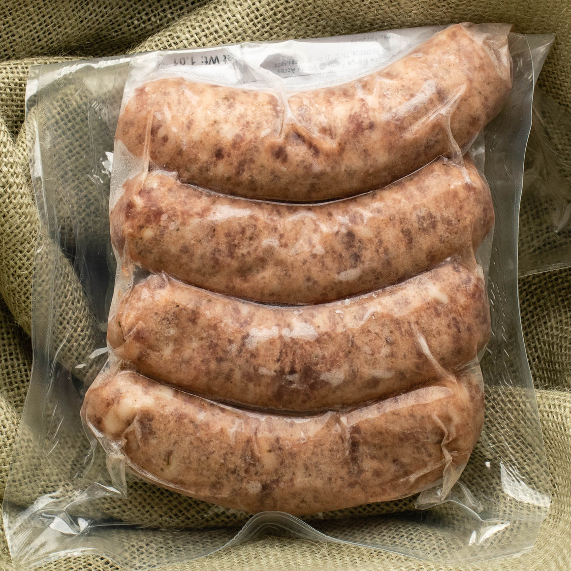 Bratwurst - Organically Fed Heritage Pork