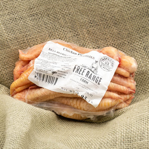 Chicken Feet - Pasture Raised and Organically Fed