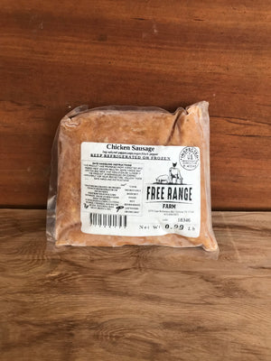 Chicken Sausage - Pasture Raised and Organically Fed