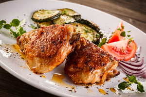 Chicken Thighs - Organically Fed and Pasture Raised