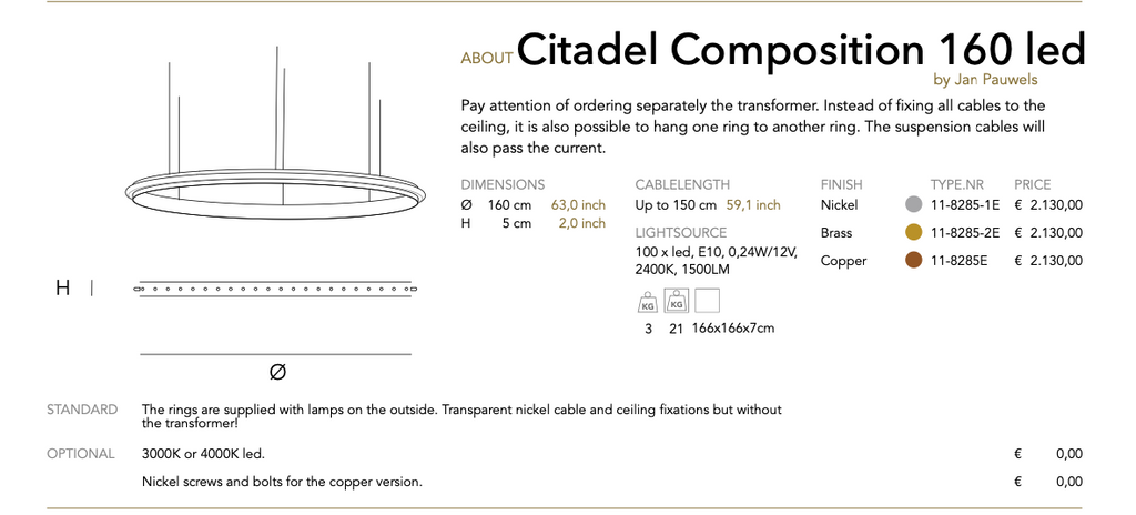 Citadel Composition  led