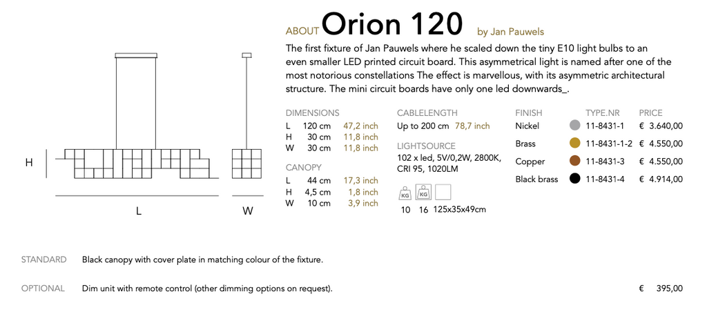 Orion 120