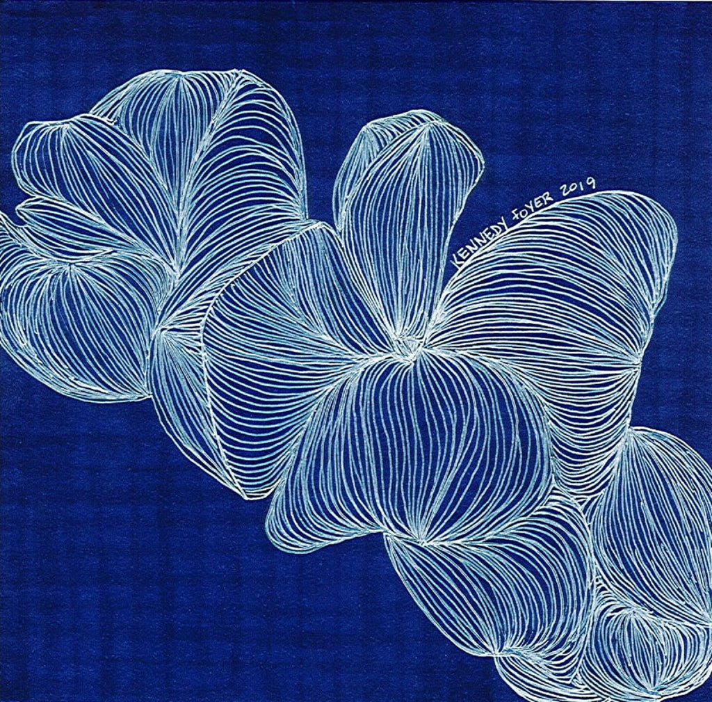 Giclee Print-Blue Jelly