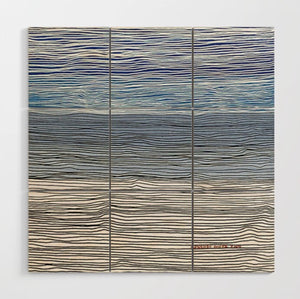 Wood Wall Art-Shoy's Beach