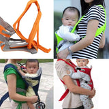 Nylon and Plastic Buckle 3D Mesh Baby Wrap Carrier