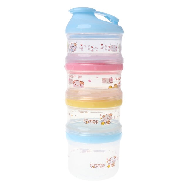 4 Layers Baby Milk Powder Container