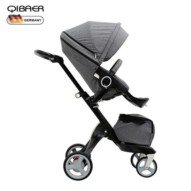 Luxury Baby 2 in 1 Stroller