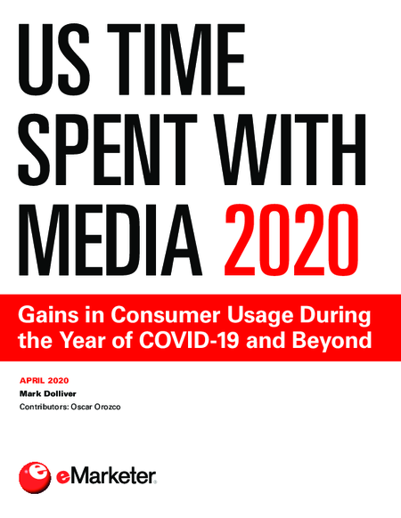 US Time Spent with Media 2020: Gains in Consumer Usage During the Year of COVID-19 and Beyond