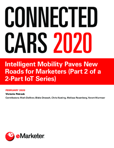Connected Cars 2020: Intelligent Mobility Paves New Roads for Marketers (Part 2 of a 2-Part IoT Series)