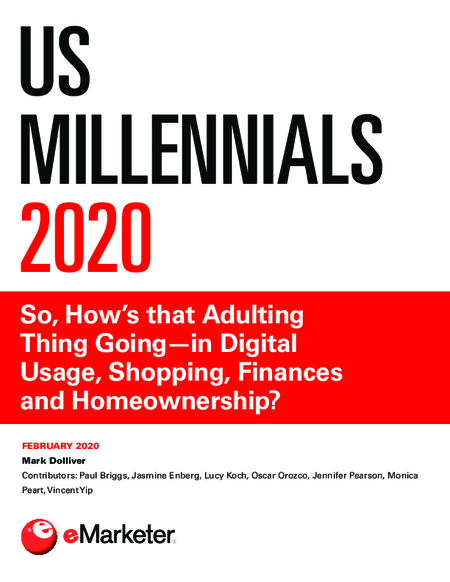 US Millennials 2020: So, How's that Adulting Thing Going—in Digital Usage, Shopping, Finances and Homeownership?