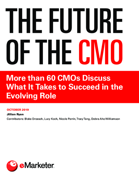 The Future of the CMO: More than 60 CMOs Discuss What It Takes to Succeed in the Evolving Role