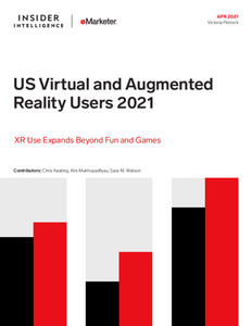 US Virtual and Augmented Reality Users 2021