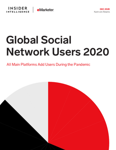 Global Social Network Users 2020