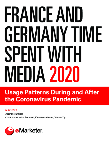 France and Germany Time Spent with Media 2020: Usage Patterns During and After the Coronavirus Pandemic