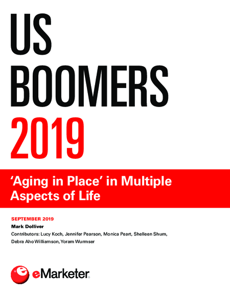 US Boomers 2019: 'Aging in Place' in Multiple Aspects of Life