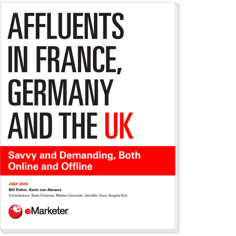 Affluents in France, Germany and the UK: Savvy and Demanding, Both Online and Offline