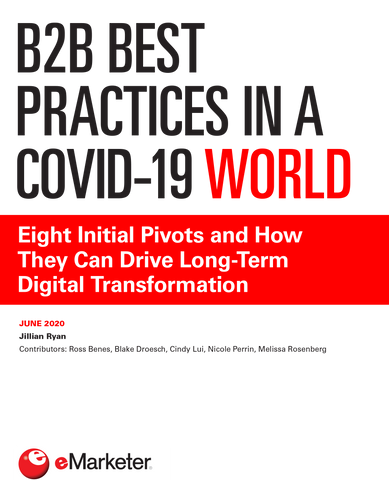 B2B Best Practices in a COVID-19 World