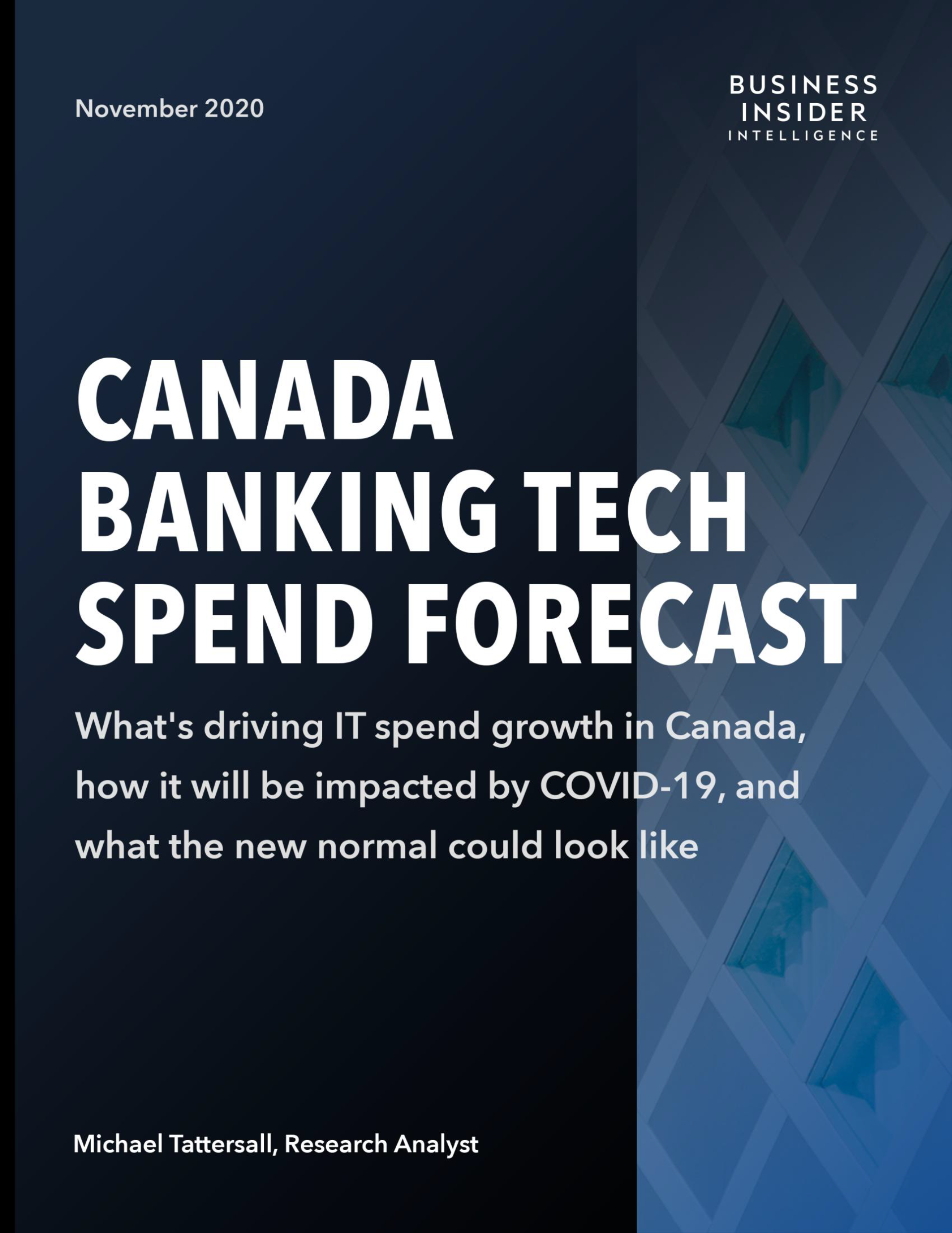Canada Banking Tech Spend Forecast