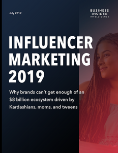 The Influencer Marketing Report