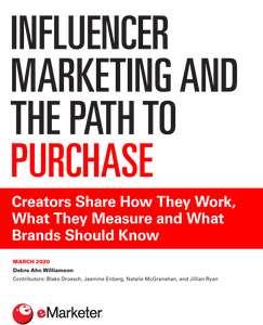 Influencer Marketing and the Path to Purchase