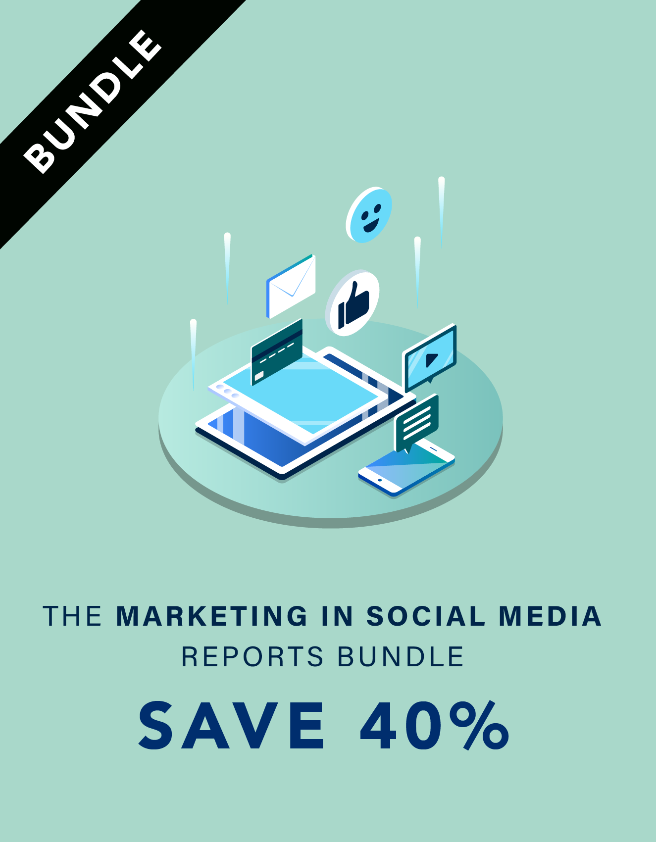 Marketing in Social Media Report Bundle