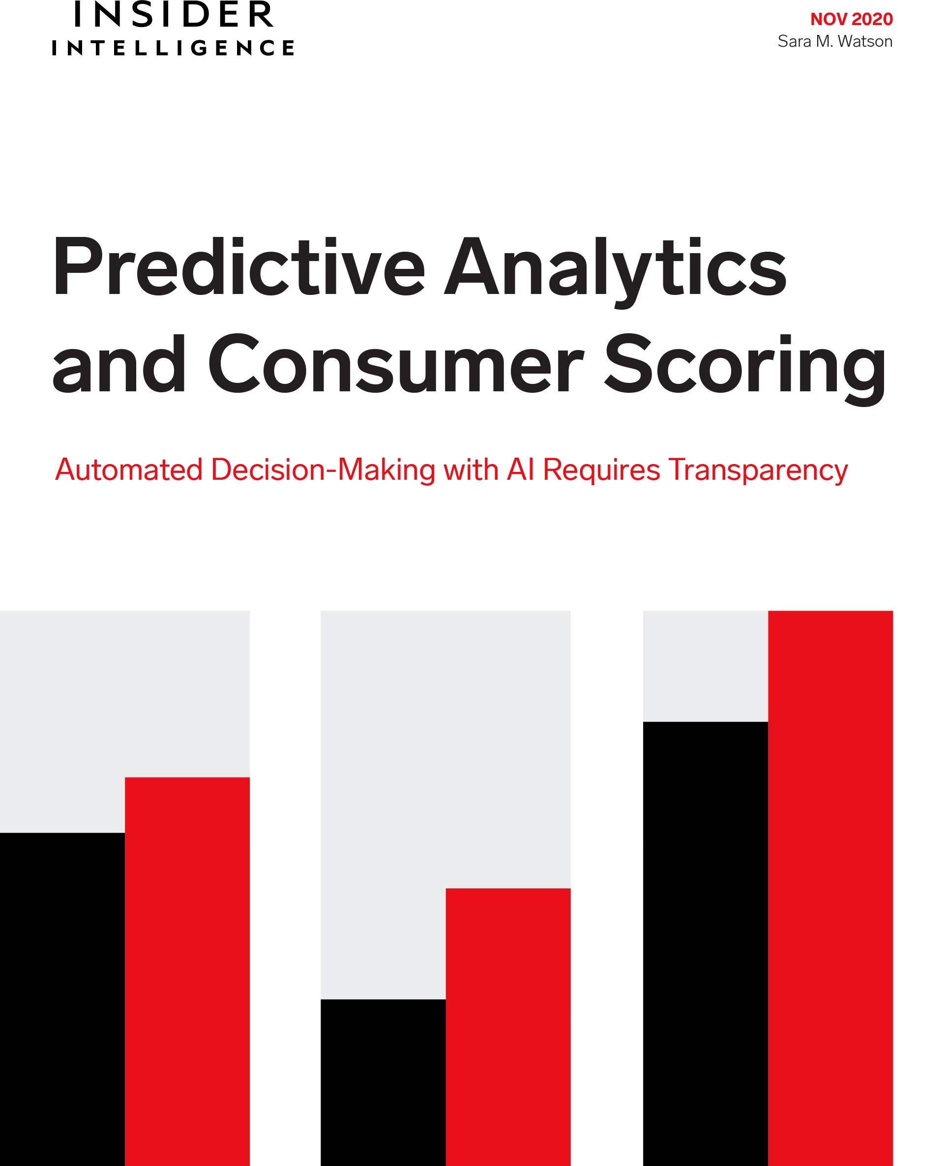 Predictive Analytics and Consumer Scoring