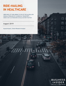 The Ride-Hailing in Healthcare Report
