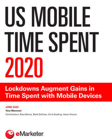 US Mobile Time Spent 2020