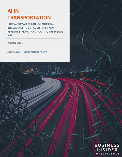The AI in Transportation Report
