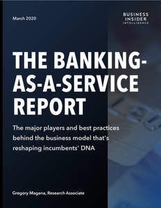 The Banking as a Service Report